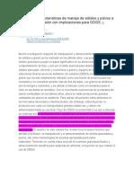 La Fluidez y Características de Manejo de Sólidos y Polvos a Granel Lectura 1 (1)