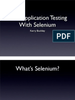 Web Application Testing With Selenium 79