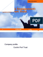 Cochin Port Employee Engagement