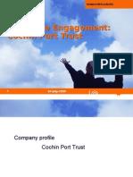Cochin Port Employee Engagement