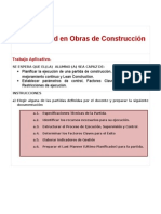 Trabajo Aplicativo Productividad en Obras de Construcción