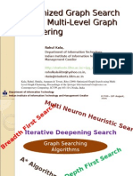Optimized Graph Search Using Multi-Level Graph Clustering