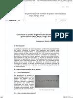 Como Hacer La Prueba de Germinación de Semillas de Granos Básicos (Maíz, Frijol, Sorgo, Arroz _ Shiank Huan Kan - Academia.edu