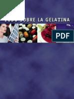 Proceso de Elaboracion de La Gelatina