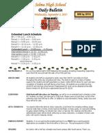 SHS Daily Bulletin 9-2-15