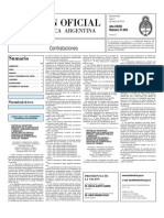 Boletin Oficial 01-03-10 - Tercera Seccion
