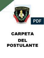 Carpeta Postulante 2015-II