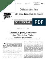 P. Tam - Bulletin Amis St François de Sales