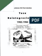 Tese Reintegracionista AGAL 1983-1984