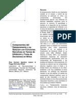 Componentes Del Temperamento y Su Relacion en Tareas de Inhibicion y Toma de Decisiones en Niños