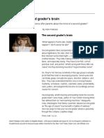 your second graders brain - the second graders brain   greatschools