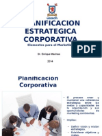 04 Planificacion Estrategica Corporativa Para El Marketing 182855