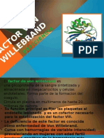 Deficiencia de Factor Von Willebrand