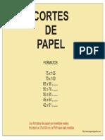 Cortes De papel