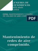 Mantenimiento y Diseño de Una Red de Aire Comprimido.