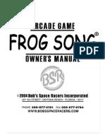 Frog Song Arcade Manual