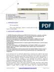 Aula Extra - Conhecimentos de Banco de Dados - SQL