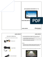 GPS Aquarius 4.3'' TV CR - Guia de Instalação Câmera de Ré