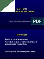 CEHON - REUNIÃO DAS 4AS FEIRAS