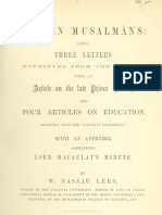 Indian Musalmáns - Appendix containing Lord Macaulay's minute