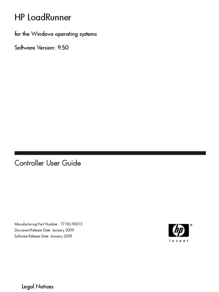 load runner controller user guide web server world wide web rh scribd com hp loadrunner controller user guide Load Runner