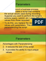 Load Runner Parameters Chapter 7
