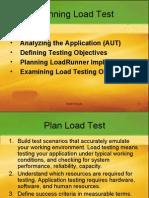 Load Runner Planning Load Test Chapter 2