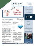 Arts Unbound Newsletter, February 2010
