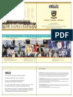 XIMR Executive Brochure 2012-14