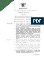 Permenkes No. 42 Tahun 2015 SIP ATLM