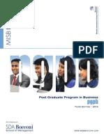 Admission Brochure 2014