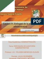 Enfoques de Auditoria Administrativa