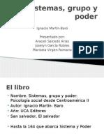 Presentación power point Sistemas, Grupo y Poder