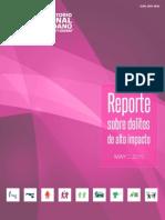 Reporte sobre delitos de alto impacto (México, Mayo 2015)