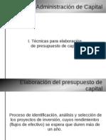 Evaluación de proyectos de capital