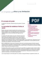 01. El Poder Político y Su Limitación - Apuntes de Grado en Derecho - UNED