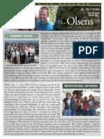 Olsen Newsletter August 2015