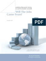 Where Will the Jobs Come From
