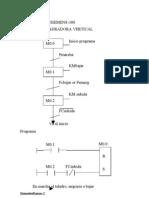 Ejercicios de Siemens-300 Ejercicio 1. Taladradora Vertical