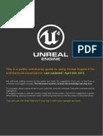 Guia para el renderizado con Unreal Engine.