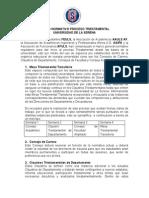 Agosto 2015 - Marco Proceso Triestamental Consensuado  - ULS
