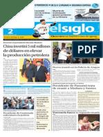 Edición Impresa El Siglo 02-09-2015