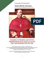 Iglesia y Estado(Cardenal Alfredo Ottaviani)
