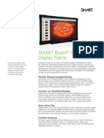 Factsheet SMART Board interactive display frame educatie DE