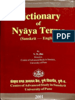 Dictionary of Nyaya Terms - V.N. Jha_Part1