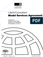 Model Serives FIDIC