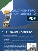 Galvanometro y Amperimetro