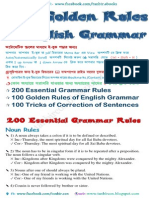 400 Golden Rules of English Grammar