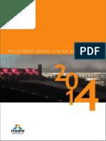 Relatório Anual 2014 - Itaipu Binacional