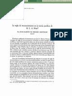 Libro Laregladereconocimientoenlateoriajuridica Juan Ramon de Paramo Arguelles